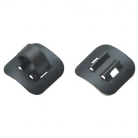 Guia Jagwire Stick On Aluminio Preto - 1 pcs